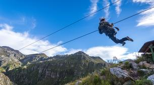Zipline-Cape Town-Canopy tour in Elgin Valley's Hottentots Holland Nature Reserve-1