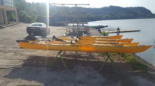 Kayak-Sofia-Kayaking in the Iskar Reservoir from Sofia-3