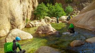 Canyoning-Aiguilles de Bavella-Canyon Sportif de la Vacca à Bavella, Corse-2