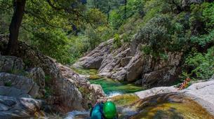 Canyoning-Aiguilles de Bavella-Canyon sportif de Purcaraccia à Bavella, Corse-2