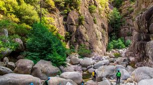 Canyoning-Aiguilles de Bavella-Canyon Sportif de la Vacca à Bavella, Corse-4