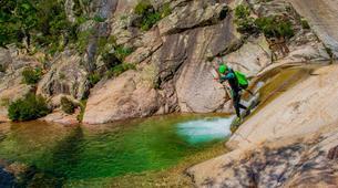 Canyoning-Aiguilles de Bavella-Canyon sportif de Purcaraccia à Bavella, Corse-4