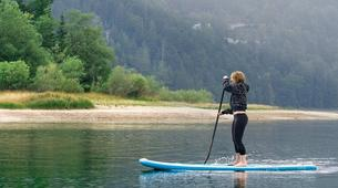 Stand up Paddle-Bovec-Stand up Paddle Boarding (SUP) tour on Lake Predil, Italy-1