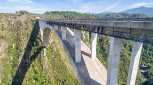 Bungeejumping-Plettenberg Bay-World's highest bridge bungy, 216m from Bloukrans Bridge-2