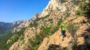 Canyoning-Aiguilles de Bavella-Canyon sportif de Purcaraccia à Bavella, Corse-3