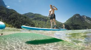Stand up Paddle-Bovec-Stand up Paddle Boarding (SUP) tour on Lake Predil, Italy-5