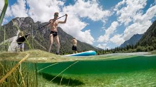 Stand up Paddle-Bovec-Stand up Paddle Boarding (SUP) tour on Lake Predil, Italy-3