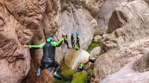 Canyoning-Aiguilles de Bavella-Canyon Sportif de la Vacca à Bavella, Corse-3