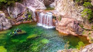 Canyoning-Aiguilles de Bavella-Canyon Sportif de la Vacca à Bavella, Corse-6