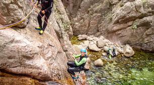 Canyoning-Aiguilles de Bavella-Canyon Sportif de la Vacca à Bavella, Corse-1