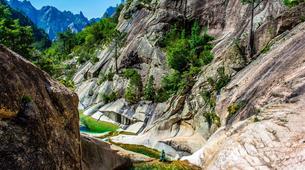 Canyoning-Aiguilles de Bavella-Canyon sportif de Purcaraccia à Bavella, Corse-5