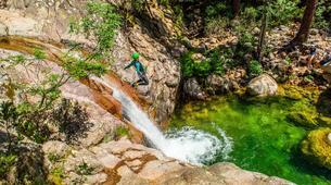 Canyoning-Aiguilles de Bavella-Canyon sportif de Purcaraccia à Bavella, Corse-1