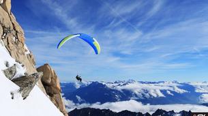 Parapente-Val Thorens, Les Trois Vallées-Vol Hiver Parapente Biplace à Val Thorens-1