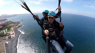 Paragliding-Costa Adeje, Tenerife-Highest tandem paragliding flight in Europe from Mount Teide, near Costa Adeje-2