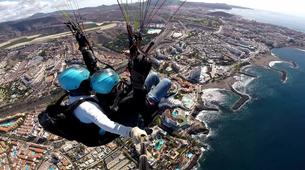 Paragliding-Costa Adeje, Tenerife-Highest tandem paragliding flight in Europe from Mount Teide, near Costa Adeje-1