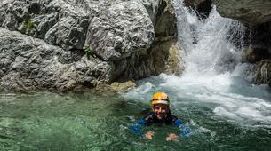 Canyoning-Corte, Centre Corse-Descente du canyon du Verghellu, près de Corte-2