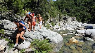 Canyoning-Corte, Centre Corse-Descente du canyon du Petit Vecchio près de Corte, Haute Corse-2