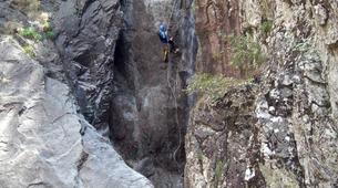 Canyoning-Piana-Descente du canyon du Zoïcu près de Soccia, en Corse du Sud-2