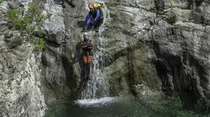 Canyoning-Piana-Descente du canyon du Zoïcu près de Soccia, en Corse du Sud-4