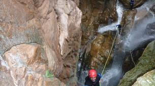 Canyoning-Corte, Centre Corse-Descente du canyon du Tavignano à Corte, Haute Corse-6