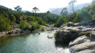 Canyoning-Corte, Centre Corse-Descente du canyon du Grand Vecchio près de Corte, Haute Corse-3