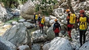 Canyoning-Corte, Centre Corse-Descente du canyon du Verghellu, près de Corte-1
