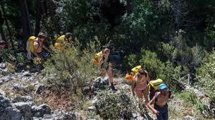 Canyoning-Corte, Centre Corse-Descente du canyon du Verghellu, près de Corte-4
