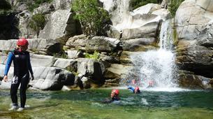 Canyoning-Corte, Centre Corse-Descente du canyon du Tavignano à Corte, Haute Corse-5