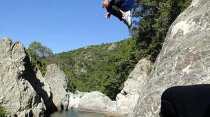 Canyoning-Corte, Centre Corse-Descente du canyon du Petit Vecchio près de Corte, Haute Corse-5