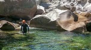 Canyoning-Corte, Centre Corse-Descente du canyon du Grand Vecchio près de Corte, Haute Corse-4