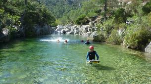 Canyoning-Corte, Centre Corse-Descente du canyon du Tavignano à Corte, Haute Corse-3