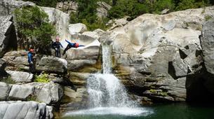 Canyoning-Corte, Centre Corse-Descente du canyon du Tavignano à Corte, Haute Corse-4