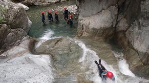 Canyoning-Corte, Centre Corse-Descente du canyon du Verghellu, près de Corte-11