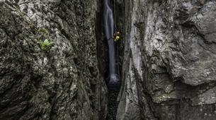Canyoning-Piana-Descente du canyon du Zoïcu près de Soccia, en Corse du Sud-6