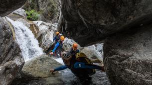 Canyoning-Corte, Centre Corse-Descente du canyon du Verghellu, près de Corte-3