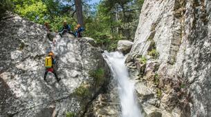 Canyoning-Corte, Centre Corse-Descente du canyon du Verghellu, près de Corte-6