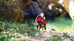 Canyoning-Gorgo de la Escalera-Canyoning au Gorgo de la Escalera près de Valence-2