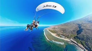 Paragliding-Saint-Leu-Tandem paragliding flight over the lagoon of Saint Leu, Reunion Island-1