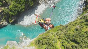 Bungee Jumping-Queenstown-Canyon Swing from 109 metres over Shotover Canyon-1
