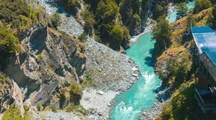 Bungee Jumping-Queenstown-Canyon Swing from 109 metres over Shotover Canyon-3