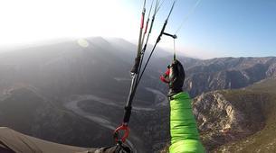 Paragliding-Mount Olympus-Tandem paragliding flight over Mount Olympus-3