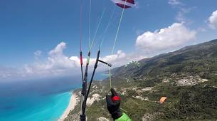 Paragliding-Mount Olympus-Tandem paragliding flight over Mount Olympus-2