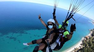 Paragliding-Mount Olympus-Tandem paragliding flight over Mount Olympus-1