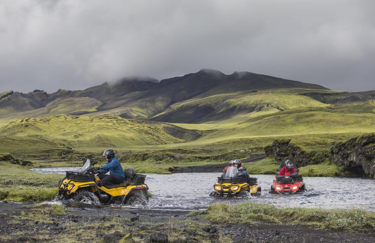Visit Iceland by quad