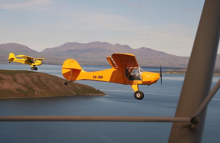 Fly over Reykjavík by Aircraft!