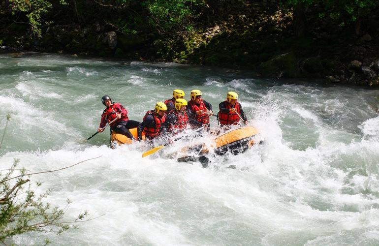 la Dranse in Thonon les Bains Rafting