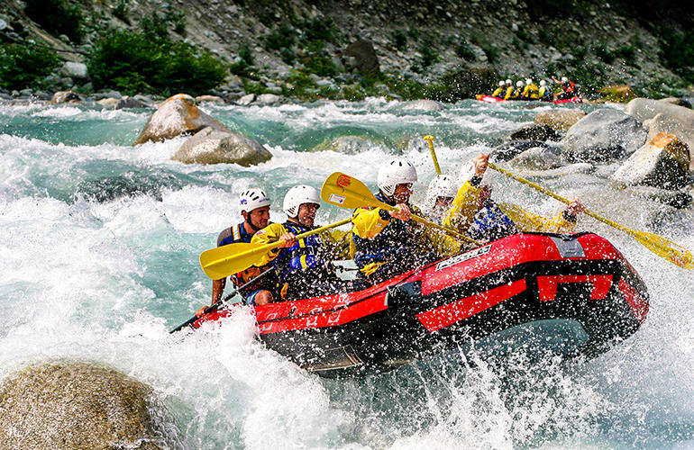 Rafting Destinations Europe, Italy
