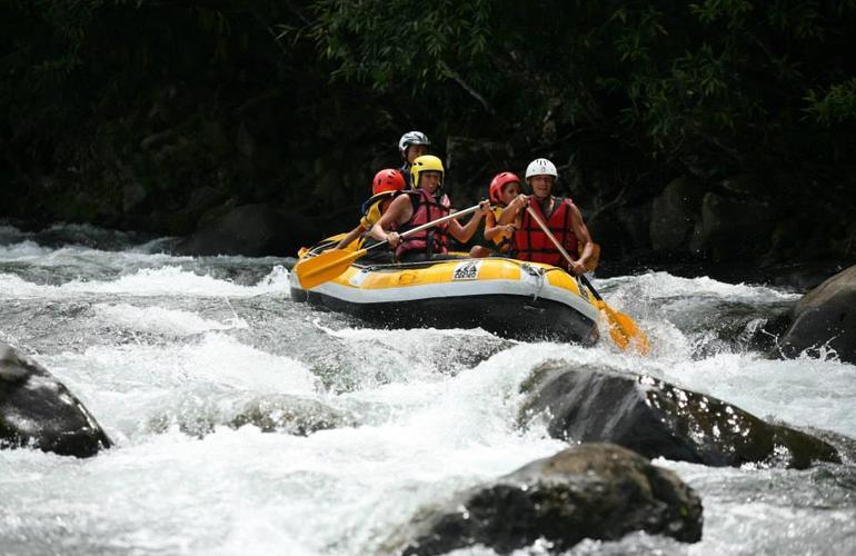 Rafting sur la rivière des Marsouins Ile de la Réunion