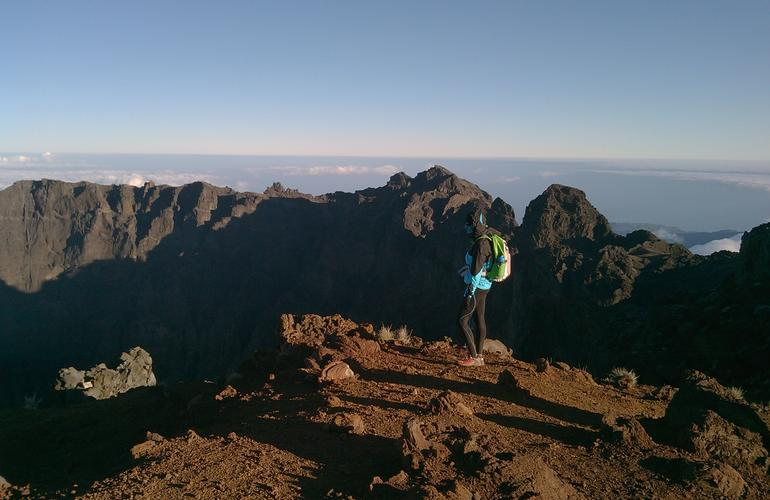 Trekking in reunion island