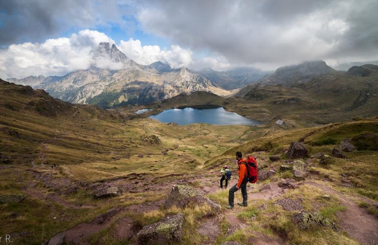 Hiking La Rhune